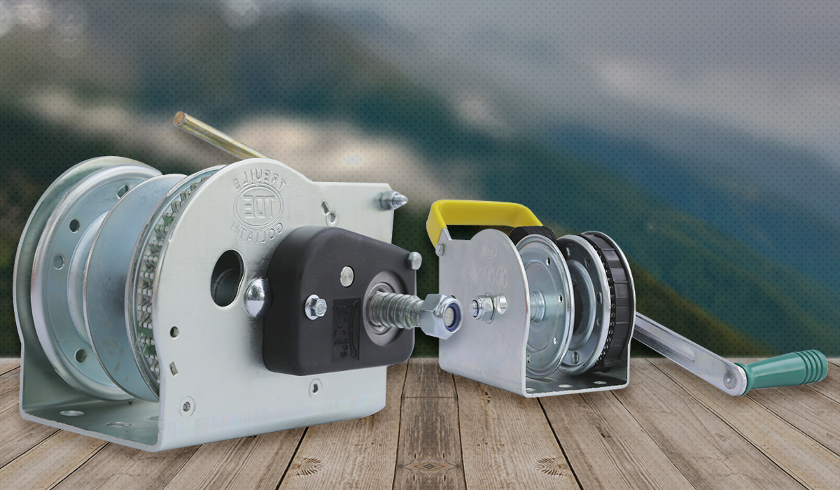 Goliath, the leading European manufacturer of manual winches