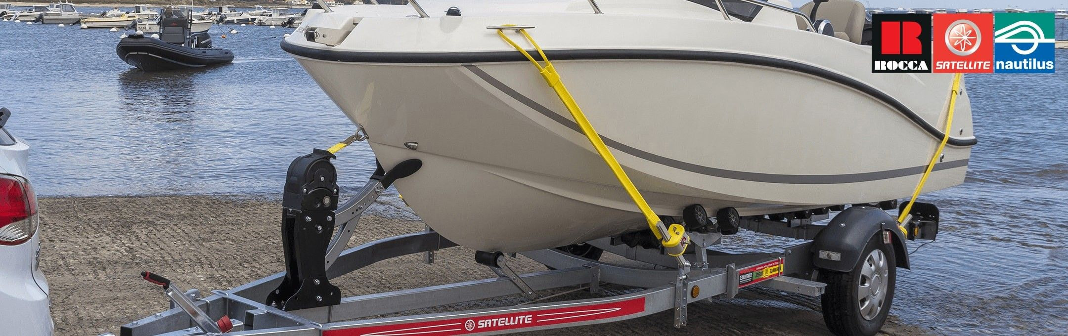 Fastening system designed for your boat and your safety.