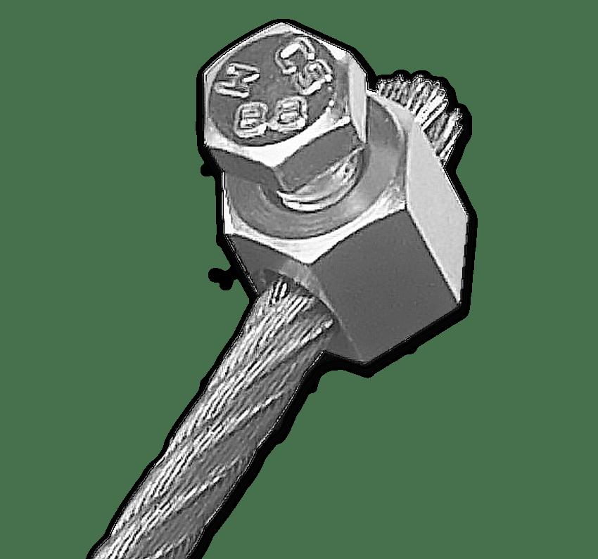 Serre-câble inox ø5mm (lot de 2)