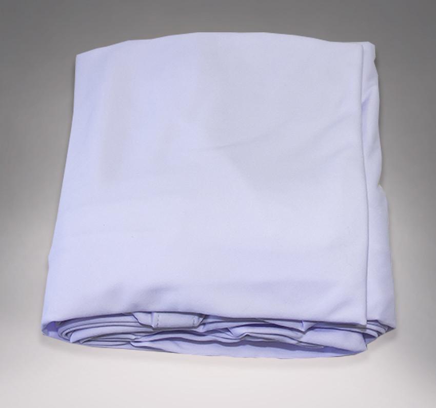 Lycra opaque blanc