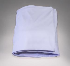 Lycra transparent blanc