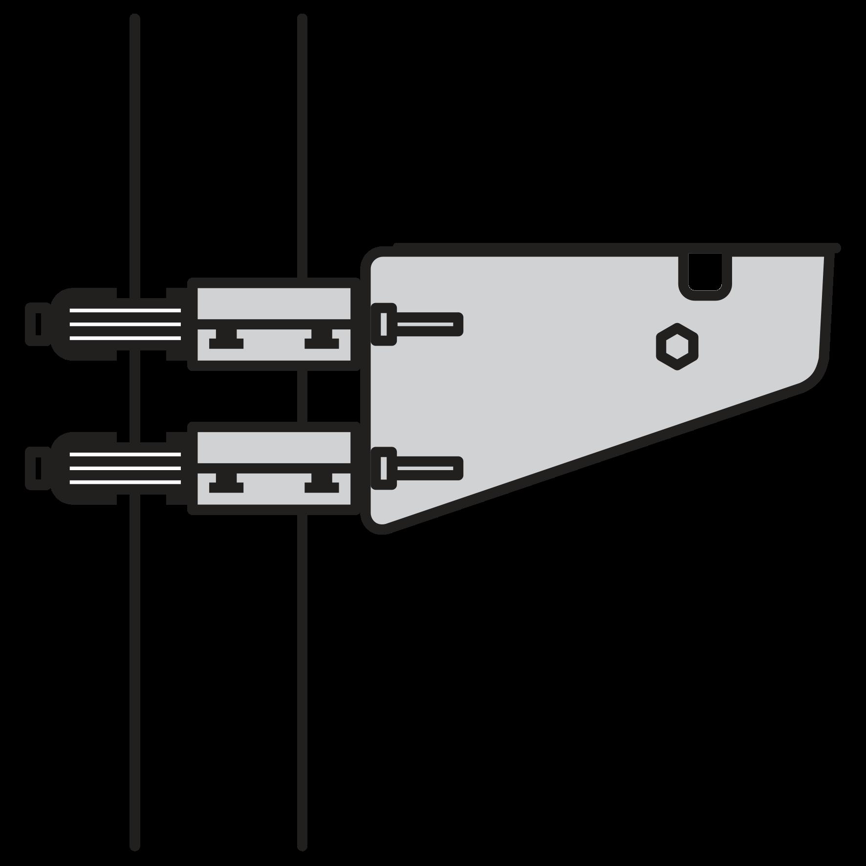 Système de fixation acier